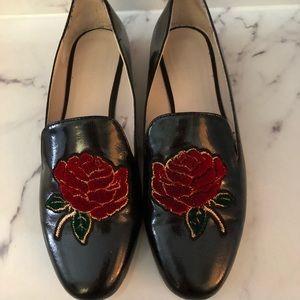 Zara Rose Embroider Style Decor Flats